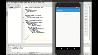 Rows and Columns | LEARNING PATH: End to End Flutter for Mobile Apps