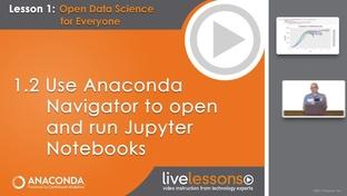 1 2 Use Anaconda Navigator to open and run Jupyter Notebooks - Data