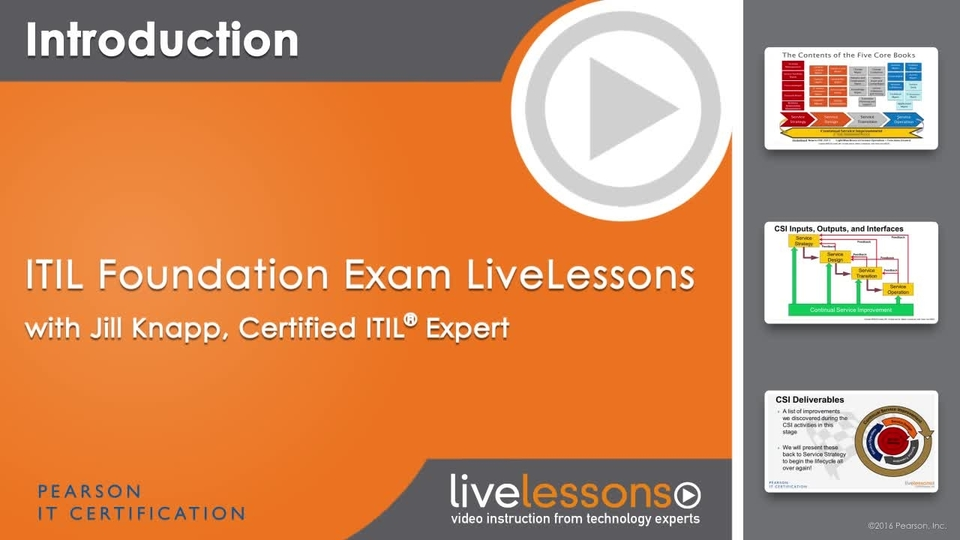 Itil Foundation Exam Oreilly Media