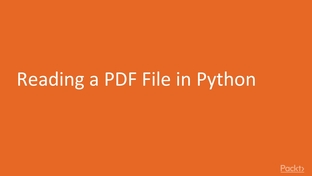 Reading a PDF File in Python - Text Processing using NLTK in