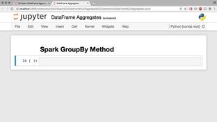 Spark GroupBy Method - Analyzing Data Using Spark 2 0