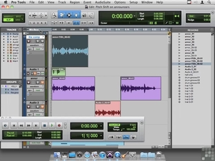 Using Pitch Shift To Adjust Voice - Avid Pro Tools 9 [Video]