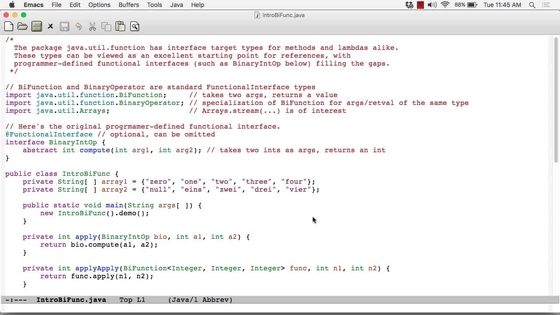 A Code Example For The Bifunction Interface - Functional Programming ...