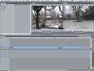Using a Filter to Generate a Transition - Advanced Final Cut