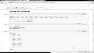 Dictionary - Learning iPython Notebook [Video]