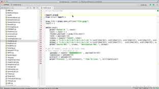 Parsing PCAP Files - Mastering Python - Networking and