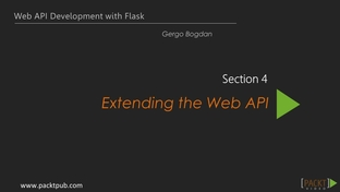 RESTful Authentication - Web API Development with Flask [Video]