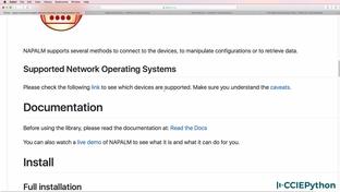 Use NAPALM to retrieve BGP neighbor information: Part 1