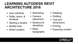What You Will Accomplish - Learning Autodesk Revit