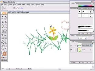 Pencil Options - Adobe Illustrator CS2 101, Online Video [Video]
