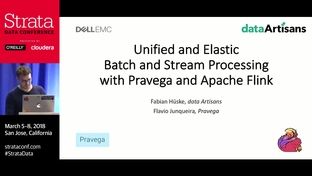 Unified and elastic batch and stream processing with Pravega