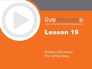 Lesson 19: Building CSS Menus: The Vertical Menu - Microsoft