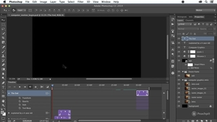 Motion for Pan, Zoom, or Rotate - Adobe Photoshop CC Learn by Video