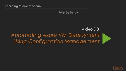 Automating Azure VM Deployment Using Configuration