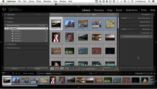 Workflow And Split Toning - Learning Adobe Lightroom 5 [Video]