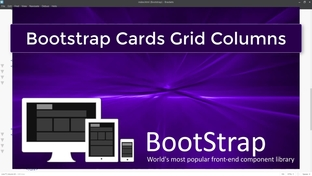 Bootstrap Cards and Grid - Bootstrap 4 for Beginners - Build