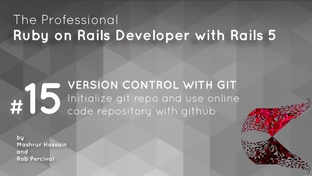 Version control with Git and Github - Professional Ruby on