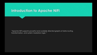 Introduction to Apache NiFi - Introduction to Apache NiFi