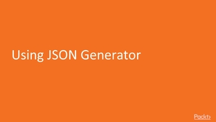 Using JSON Generator - JSON with Java EE 8: Hands-on