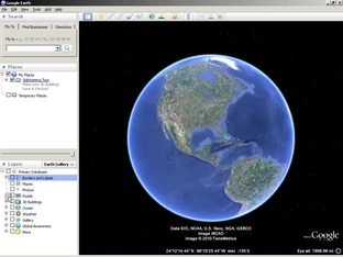 google earth live video