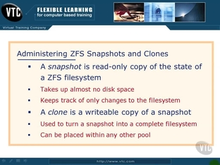 ZFS Snapshots and Clones - Oracle Solaris 11 System