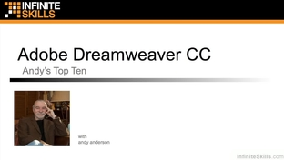 Top Ten Dreamweaver Features From Andy - Learning Adobe Dreamweaver