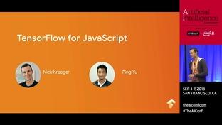 TensorFlow for JavaScript (sponsored by Google Cloud) - Nick Kreeger