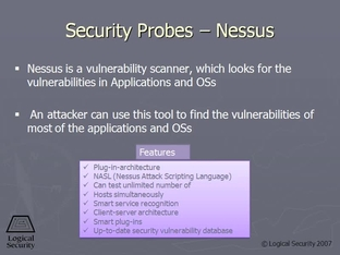 Security Probes - Nessus - SSCP Video Course Domain 7