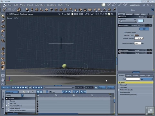 Vertex editing in a posed position learning carrara 8 [video].