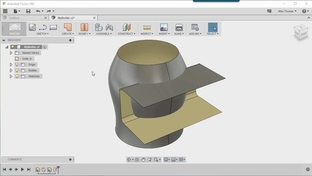 Trim And Extend A Surface - Master Part Modeling with