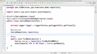 Step 07 - Writing Unit Test for deleteById method - Master