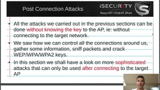 post connection attacks introduction learn network hacking from rh oreilly com