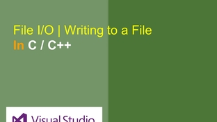 Creating Text Files using File API in C/C++ - Learn and