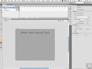 Understanding The Pencil Tool - Adobe Flash CS5 5 [Video]