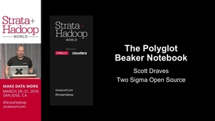 The polyglot Beaker notebook - Scott Draves (Two Sigma Open Source