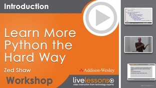 Learn More Python the Hard Way LiveLessons: Introduction