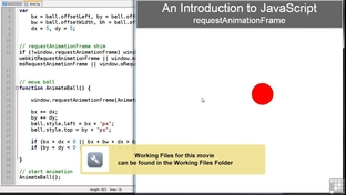 HTML5 requestAnimationFrame - JavaScript HTML5 API Programming [Video]