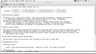 The Nginx Web Server And Unicorn App Server Architecture