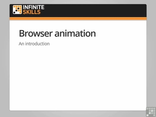Browser Animation - Programming jQuery [Video]