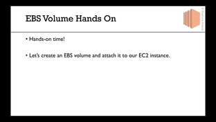 EBS Volume Creation Hands On - Amazon EC2 Master Class (with Auto