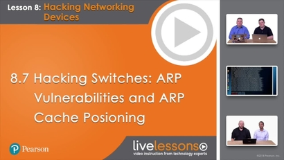 8 7 Hacking Switches: ARP Vulnerabilities and ARP Cache Poisoning