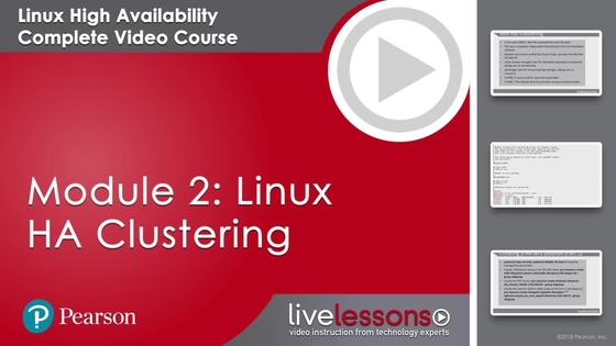 Module Introduction - Linux High Availability: Red Hat EX436