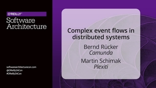 Complex event flows in distributed systems - Bernd Rücker
