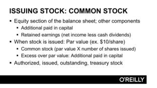 Issuing Stock - Balance Sheet Basics [Video]