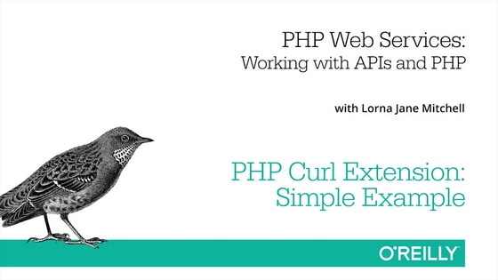 Php Curl Extension Simple Example Php Web Services Video