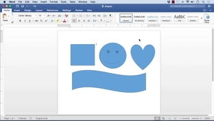 How to put a text box in word online