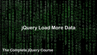 jQuery Load More Data - The Complete jQuery Course