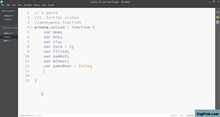 Step 1 cont  - Initial states - assign values to arrays - 2D