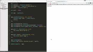 Template Engines - Project using template Engine - The Full