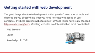 Web development and how it works - A Front-End Web Developer